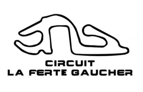 Tracé du circuit de la Ferté-Gaucher